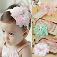 Lace Flower Hair Band Headwear Headband Accessories For Kids Baby Girl Toddler