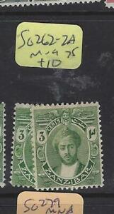 ZANZIBAR  (PP0705B)   SULTAN  3C    SG 262-2 A       MOG