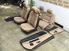 Inkl UMBAU BMW E93 Cabrio Lederausstattung Ausstattung Leder Sitze caramel Napa