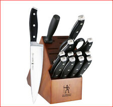 Zwilling J. A. Henckels FORGED PREMIO KNIFE Set - 15 Piece Cutlery w/ BLOCK NEW*