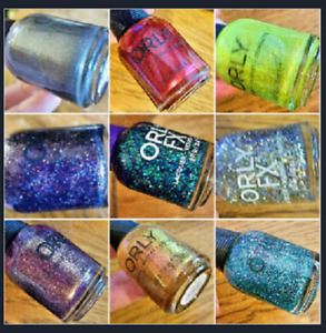 ORLY nail polish lacquer  ~ Pick your own ~ Buy 3 Get 1 Free