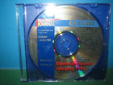 EISENBAHN JOURNAL ~ CD-ROM    2 / 2003 ONLY ~ GERMAN TEXT > VGC SEE PIC'S