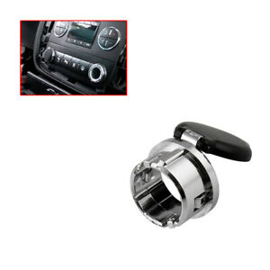 Dash Power Outlet Cover Accessories For 07-13 Chevrolet Silverado Suburban Tahoe