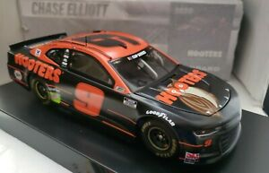 2020 CHASE ELLIOTT #9 HOOTERS NIGHT OWL CHEVY CARAMO ZL1 NASCAR 1/24TH DIECAST