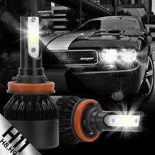 2x Cree High Power LED Headlight Low Beam Lamp LIGHT Bulbs H11 6000K
