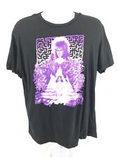 Labrynth Xl Loot Crate Shirt Collectible David Bowie Fantasy Purple Short Sleeve