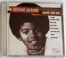 MICHAEL JACKSON - MUSIC AND ME - CD Nuovo Unplayed