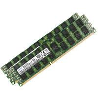 64GB 2x32GB PC3-12800R DDR3 1600MHz ECC REG RDIMM RAM For Supermicro X9DRi-LN4F+