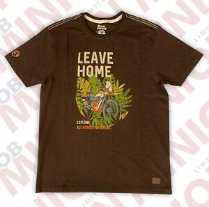 Royal Enfield Genuine Merchandise Tee Shirt - LEAVE HOME
