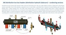 """Condensing Distribution Low Loss Header HORIZONTAL  55kW 1"""" 3 WAY for gas boiler"""