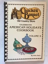 Cracker Barrel Old Country Store American Holidays Cookbook Volume II 1985