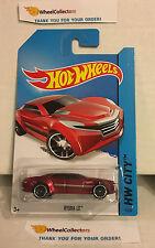 Ryura LX #5 * RED * 2014 Hot Wheels * B2