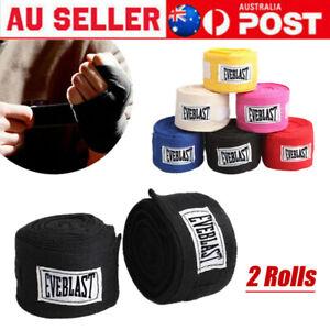 2 Rolls Boxing Gloves Cotton Bandage Fighting Sanda Strap Hand Wraps Handwraps