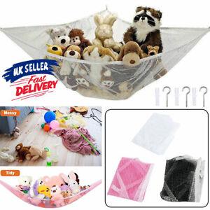 Hammock Mesh Net Soft Teddy Bear Toy Large Toy Children Nursery Storage Bedroom