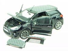 Citroen DS3 DS 3 convertible negro 2013 coche en miniatura 181545 Norev 1/18