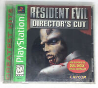 Resident Evil Director Cut Playstation 1 Ps1 Psone One CIB Rare Capcom