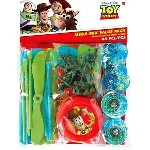 Toy Story Party Supplies Favours 48 Pc Mega Favour Pack Genuine Licensed