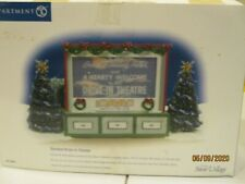 Dept 56 Stardust Drive-In Theater Animated Snow Village # 55064 Retired NEW
