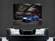HONDA S2000 CAR POSTER TUNING GARAGE FAST CAR SPEED ART PRINT LARGE HUGE