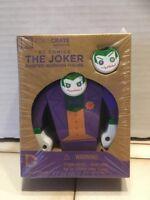 "DC Comics THE JOKER Painted Wooden Figure 5"" - Loot Crate - NEW in Plastic"