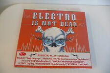 ELECTRO IS NOT DEAD - CD DIGIPACK 2 CD.BENJI DE LA HOUSE MISH MASH SIKK COBURN..