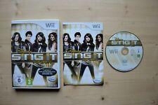 Wii - Disney Sing it: Pop Party - (OVP, mit Anleitung)
