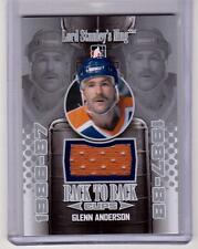 GLENN ANDERSON 13/14 ITG Lord Stanley's Mug Back to Back Jersey #15 SP /20 Rare