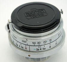 Nikon W-NIKKOR C 3.5cm 35mm F3.5 S Mount