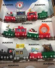 MCDONALDS 2017 HOLIDAY EXPRESS - COMPLETE SET - FREE PRIORITY - ON HAND
