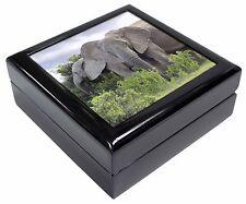 African Elephants Keepsake/Jewellery Box Christmas Gift, AE-11JB