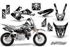 Honda CRF50 Dirt Bike Graphics Sticker Kit Decal Wrap MX Deco 04-15 NIGHTWOLF W