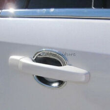For Ford Edge 2007-2014 ABS Chrome Auto Side Door Handle Cup Bowl Cover Trim