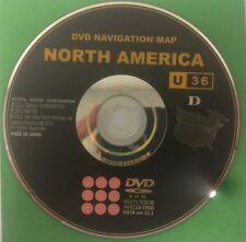 Toyota Lexus Navigation Map DVD 86271-53026 Data Ver. 11.1 U36