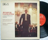 Melodyia / HMV ASD 2904 lp 1971 Bartok Honegger MRAVINSKY Leningrad Philharmonic