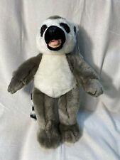 "RARE 15"" New w/ Tags Build A Bear Workshop BABW Z-Stripe Lemur Plush"