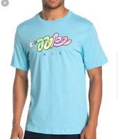 Nike Air Max 90 97 T-shirt Put It In The Air SZ XL White Blue Max  BV1097 496