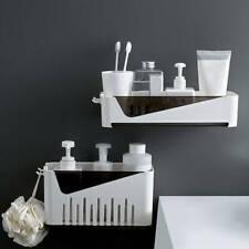 Kitchen Bathroom Shower Shelf Rack Storage Holder Wall Mounted Free Punch Rack