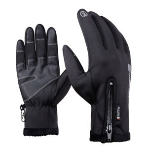 Thermal Windproof Gloves Touch Screen Warm Driving Cycling MTB BMX Bike Mittens