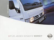 Prospekt Nissan Cabstar 3 04 2004 LKWs Nutzfahrzeugprospekt truck brochure