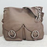[ OROTON ] Womens Chain Leather Tote Shoulder Bag / Handbag