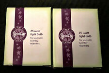 NEW - 2 Scentsy 25 watt Light Bulb Fits Full Size Scentsy Warmers