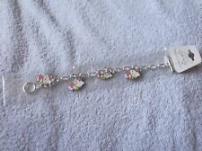 "Hello Kitty ""CHARM BRACELET + 4 CHARMS"" - Brand new - LOOK!"