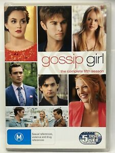 Gossip Girl - Complete Firth Season - 5 DVD Set - DVD - AusPost with Tracking