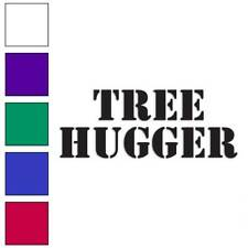 Tree Hugger Decal Sticker Choose Color + Size #1619