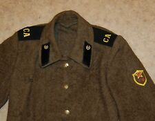 Coat Soldier's Overcoat Russian Soviet Red Army Troops Military Uniform USSR