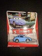MATTEL DISNEY PIXAR CARS SALLY with TATTOO NEW
