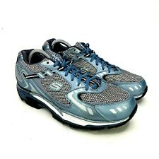 Sketchers Shape Ups Walking Toning Shoes AT Women's Size 11 US Blue Gray (12360)
