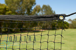 Cricket Practice Net / Sports Barrier Netting  3m x 20m with Tie Rope & Edging