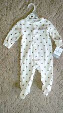 """Carters- Baby One Piece Sleeper """" My First Thanksgiving: NWT - CL462"""