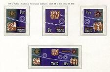37514) Malte 1978 MNH Christmas 4v